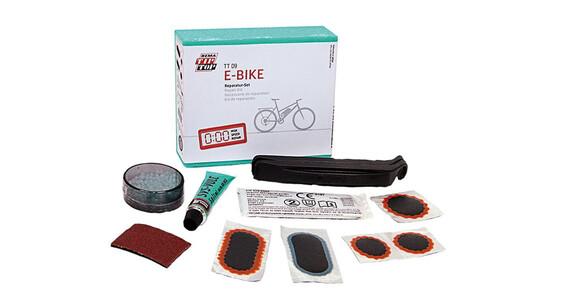 Tip Top TT 09 E-Bike - blanc/turquoise